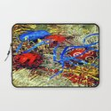 Christmas tinsel and baubles Laptop Sleeve