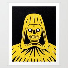 Yellow Death Art Print