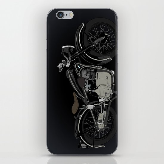 1937 Black iPhone & iPod Skin