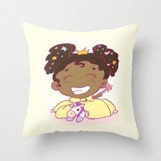 Lil´Princess Giddy-Up! Throw Pillow