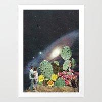 Tropical Universe  Art Print
