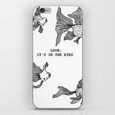 Love: It's In the Eyes iPhone & iPod Skin