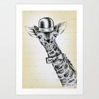 I'm Too SASSY For My Hat… Art Print