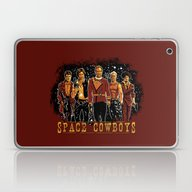 Laptop & iPad Skin featuring Space Cowboys by The Cracked Dispensa…