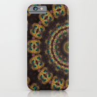iPhone & iPod Case featuring Peacock Velvet by Bel Menpes