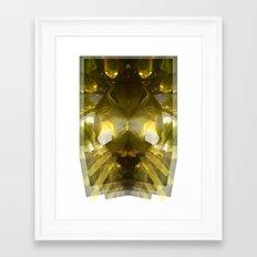 Aquatic Plantlife Framed Art Print