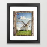 Archangel Azrael Framed Art Print
