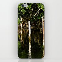 vertical lines iPhone & iPod Skin