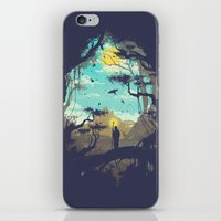 The Guardian Of The Sun iPhone & iPod Skin