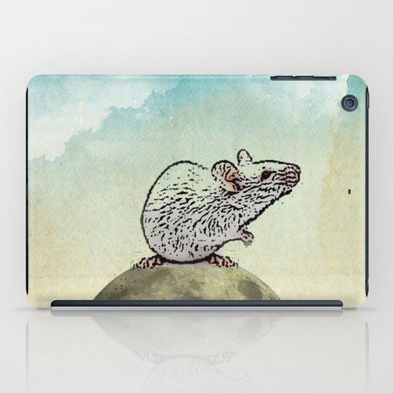 Tiny and the Cheese Moon iPad Case