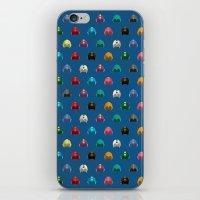 Cool Colorful Megaman He… iPhone & iPod Skin