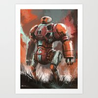 Ponkan Bot Art Print