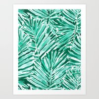 ON VACAY Art Print