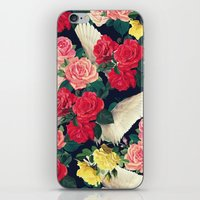 roses wings, tropical  iPhone & iPod Skin