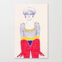 Unevenness Canvas Print