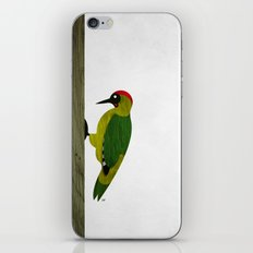 Green Woodpecker iPhone & iPod Skin