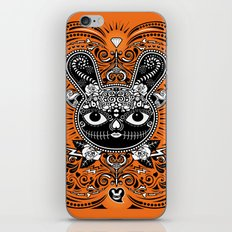 Day Of The Dead Bunny Celebration iPhone & iPod Skin