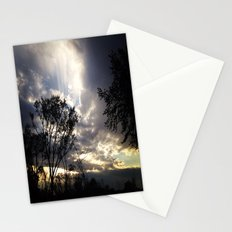 Peaceful and powerful sunset Stationery Cards