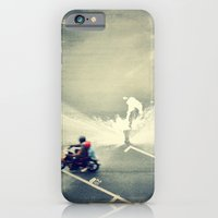 iPhone & iPod Case featuring Riding on Paint by Azlif