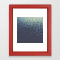 On the Sea Framed Art Print