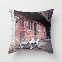 610 Barn #2 Throw Pillow