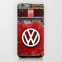 VW Retro Red iPhone 6 Slim Case