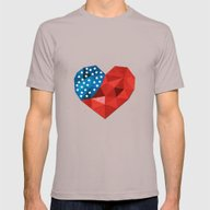 4th Of July Mens Fitted Tee Cinder SMALL