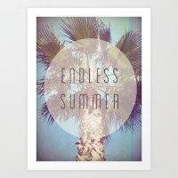 Endless Summer Art Print