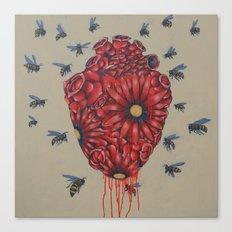 Heart A Bloom Canvas Print