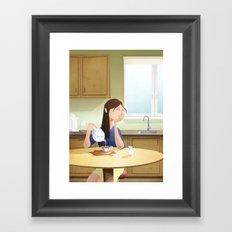 Absen-Tea Framed Art Print