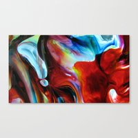 Rainbow Nebula Canvas Print
