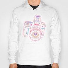Pastel Cute Camera  Hoody