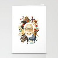Miyazaki-San Stationery Cards