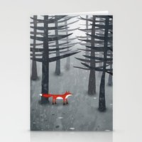 lost Stationery Cards featuring The Fox and the Forest by Nic Squirrell