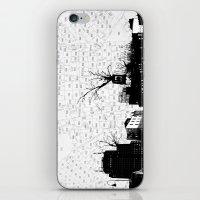 NYC splatterscape iPhone & iPod Skin