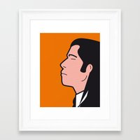 Pop Icon - Vince Framed Art Print