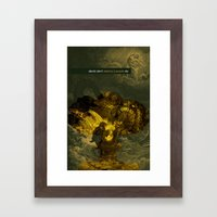 destroy Framed Art Print