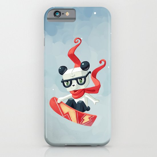 Snowboarding iPhone & iPod Case