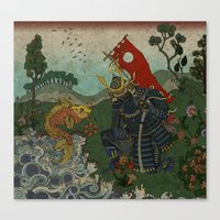 Haunt For Little Blind F… Canvas Print
