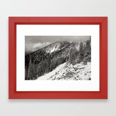 Storm is brewing! Framed Art Print
