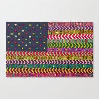 MY USA Canvas Print