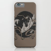 iPhone & iPod Case featuring Falling by BEADLER Design and Illustration