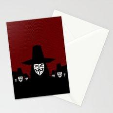 Million Mask March Stationery Cards