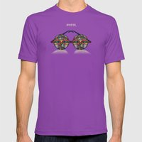 iMAGINE Mens Fitted Tee Ultraviolet SMALL