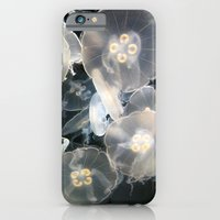 iPhone & iPod Case featuring JellyFish Garden by RichCaspian