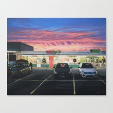 Sweet Sunset Canvas Print
