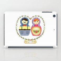 I {❤} Matryoshka iPad Case