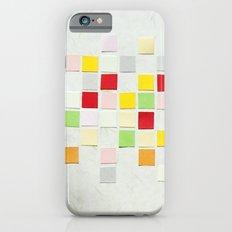 Colour Blocks Papercut iPhone 6 Slim Case
