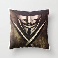 VENDETTA Throw Pillow