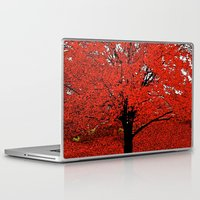 trees Laptop & iPad Skins featuring  Trees  by Saundra Myles